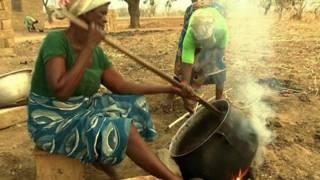Preparación de la manteca de karité