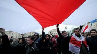 Акция протеста перед президентскими выборами