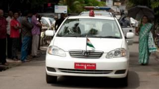 केरल के मुख्यमंत्री की सरकारी कार
