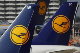 Aviones de Lufthansa
