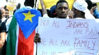अफ्रीकी मूल के नागरिकों पर हमले