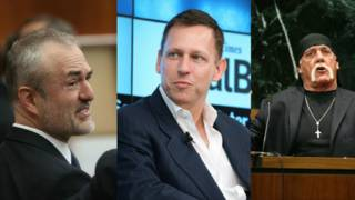Nick Denton, Peter Thiel y Hulk Hogan