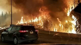 Пожары близ Форта Мак-Мюррей