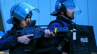 फ़्रांस की पुलिस