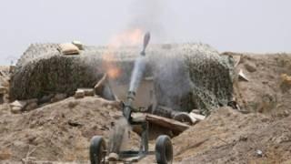 Обстрел в Ракке