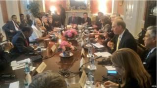 प्रधानमंत्री मोदी वॉशिंगटन के नामीगिरामी थिंक टैंक्स के साथ
