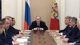 Путин с чиновниками