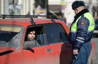 Рейд на нелегальных таксистов в Москве