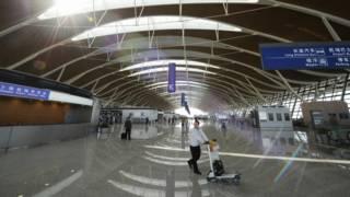 浦东机场二号航站楼(资料图片)