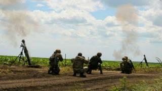 Донбас, зона бойових дій