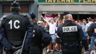 supporter Inggris