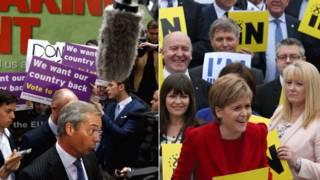 الاستفتاء حول مستقبل بريطانيا في الاتحاد الأوروبي أحدث انقساما في الرأي بين البريطانيين