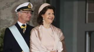 Король Карл XVI Густаф и королева Сильвия