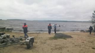 Спасательная операция на озере