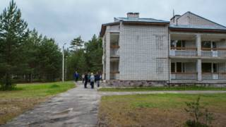 Лагерь в Карелии