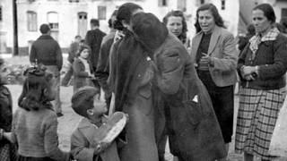 Греческие беженцы, фото времен Второй мировой войны