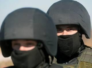 Военнослужащие внутренних войск