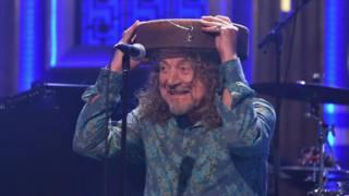 Бывший солист британской рок-группы Led Zeppelin Роберт Плант