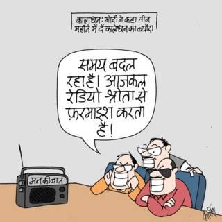 bbc hindi, cartoon, kirtish, narendra mod