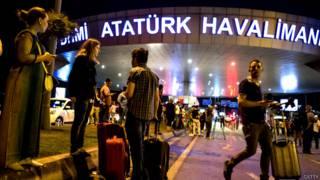 इस्तांबुल का अतातुर्क हवाई अड्डा.