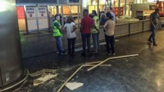 موقع تفجير مطار أتاتورك