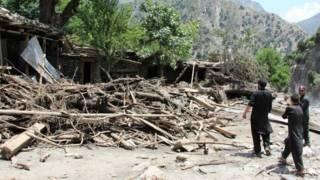 مردان میں طوفانی بارشوں سے چار افراد ہلاک