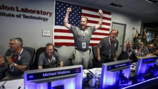 مسبار جونو الامريكي يدخل في مدار حول المشتري
