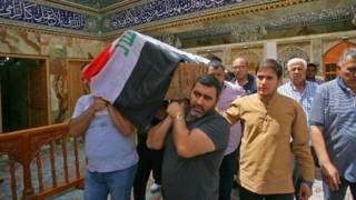 В Ираке продолжается траур