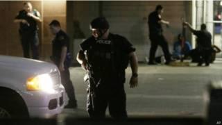 達拉斯警察遭到槍手襲擊,五名達拉斯警員死亡。
