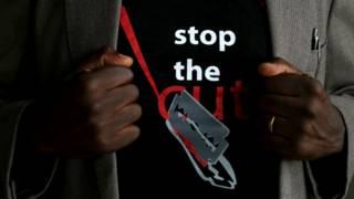 شعار حملة مناهضة للختان