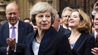 Тереза Мэй станет второй женщиной на посту премьера Великобритании