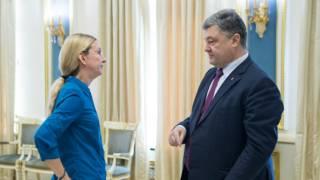 Петро Порошенко і Уляна Супрун