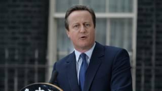 英國前任首相卡梅倫