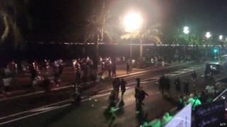الهجوم على نيس سجل بصور المراقبة المنصوبة من طرف البلدية في الشوارع وكذا باستخدام كاميرا الهواتف المحمولة