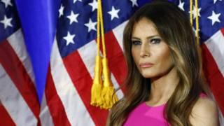 El perfil público de Melania Trump ha ido creciendo durante la campaña de su esposo.