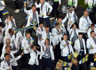Українська делегація на Олімпіаді в Лондоні, 2012 рік