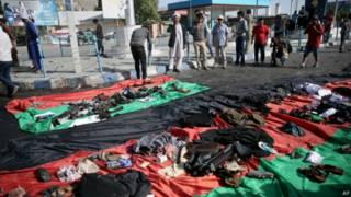حركة طالبان تقول إنه لا علاقة لها بالهجوم على مظاهرة في كابل وتنظيم الدولة يتبنى الهجوم