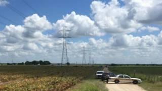 لم تعرف أسباب احتراق المنطاد الذي سقط بالقرب من خطوط نقل الكهرباء عالية التردد