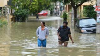 Повінь в Індії та Непалі - є жертви