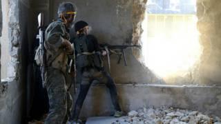 Mayaka a birnin Aleppo