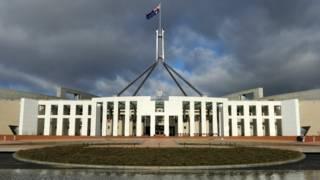 澳大利亚首都坎培拉国会大厦
