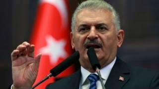 Firai ministan Turkiyya Binali Yildrim