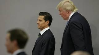 بينا نييتو: إن المكسيكيين يشعرون بالإهانة بعد تلك التصريحات، لكنني أحترم إرادة ا ترامب لبناء العلاقات بين البلدين