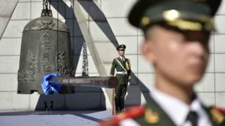 勿忘「九一八」撞鐘鳴警儀式在瀋陽舉行