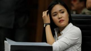 jessica wongso dalam persidangan 12 Juli lalu