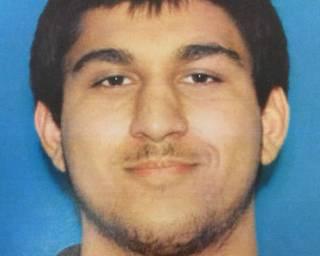 警方公布的嫌疑人塞丁照片