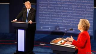 克林頓與特朗普首次辯論12次提及中國