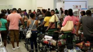 Жители Ямайки готовятся к урагану