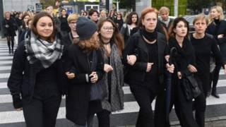 Phụ nữ Ba Lan biểu tình phản đối đề xuất luật về phá thai