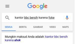 Saran pencarian Google